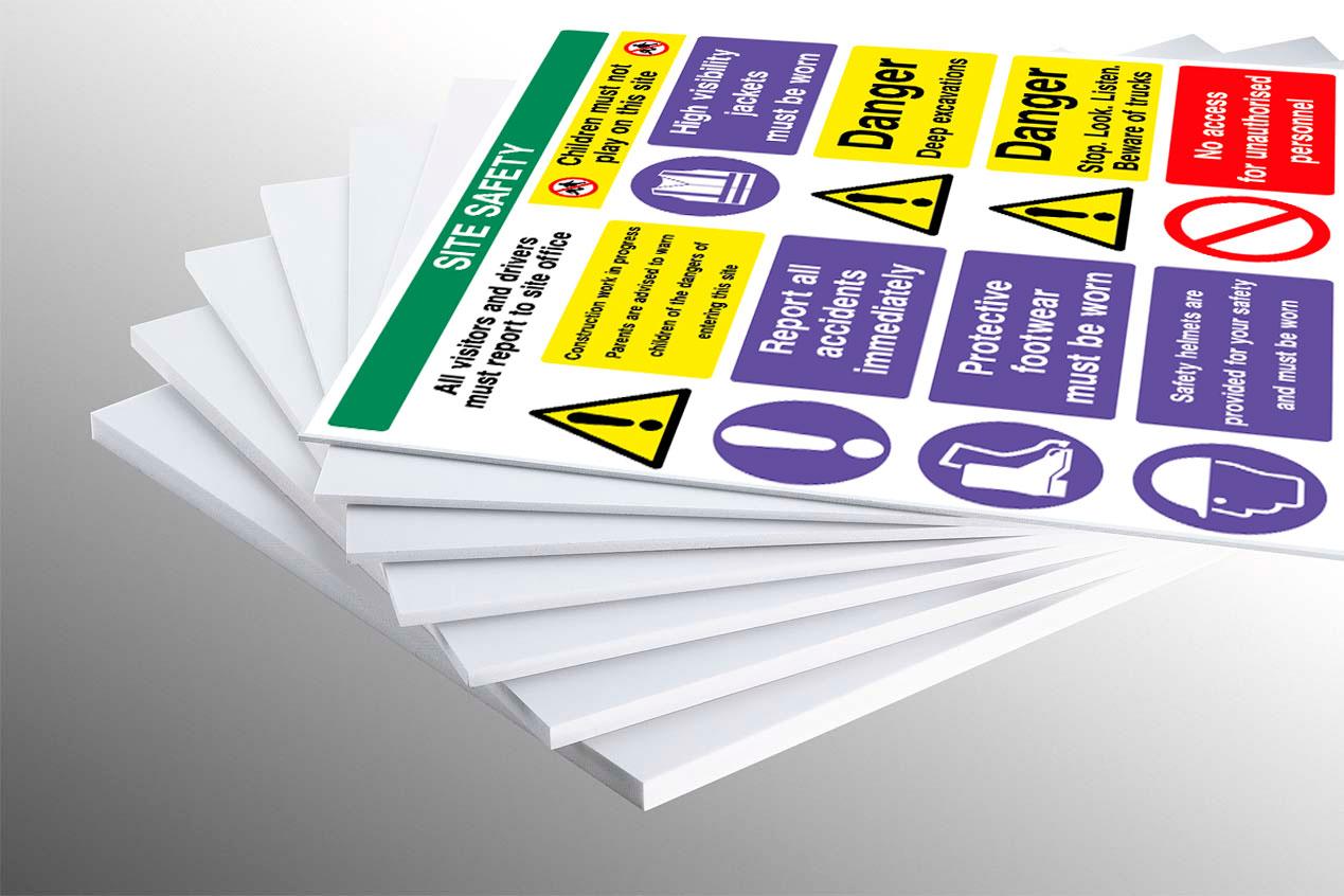 foam board signs speedesigns